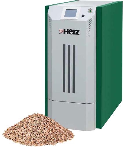 Herz firematic pellet boiler