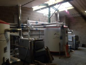 Biomass installation in Craven Arms, Shropshire