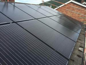 Solar PV installation in Pontesbury, Shropshire