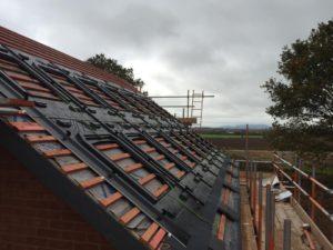 Solar panel GSE instillation in condover
