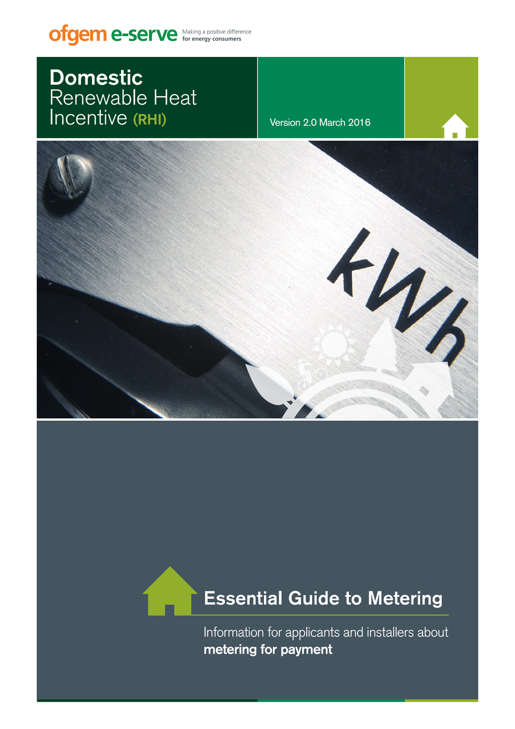 Domestic RHI essential guide to metering March 2016