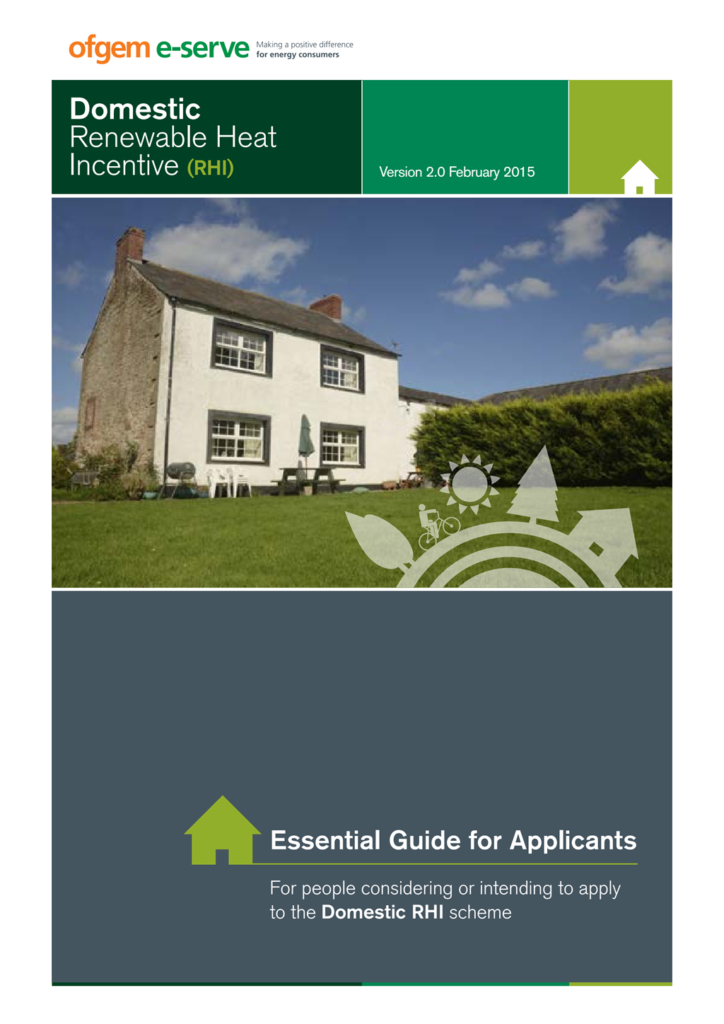 Domestic rhi essential guide for applicants