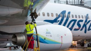 Alaska Airlines flies first commercial jet powered by forest biomass