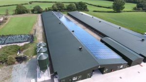 714 Solar Panel installation at Minsterley Farm