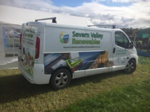 Severn Valley Renewables at the Minsterley show