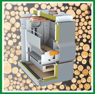 Vigas log boiler